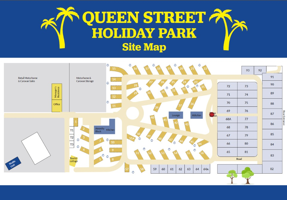 Queen Street Holiday Park, Nelson